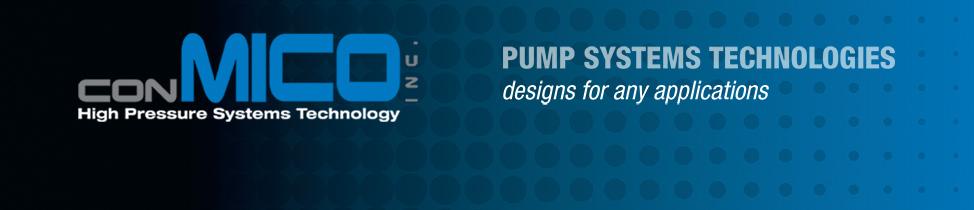 ConMico Inc  - Hammelmann and HPP high pressure, high capacity pump
